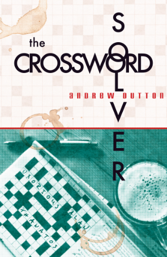 rough cover design showing glass and crossword puzzle